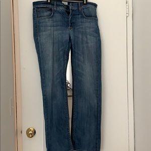 Men's Hudson jeans.